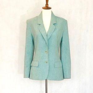Pendleton Green Vintage Wool Blazer